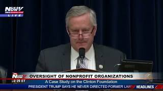 FULL CLINTON FOUNDATION Investigation U.S. House Hearing