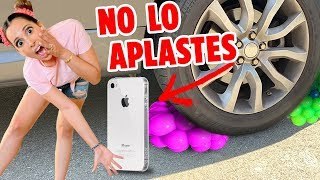 APLASTANDO COSAS SATISFACTORIAS - SLIME, IPHONE Y MAS + SORTEO INCREIBLE DE 3 IPHONES XS | Mariale