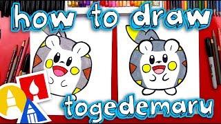 Togedemaru  - (Pokémon) - How To Draw Togedemaru Pokemon