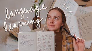 How to LEARN A LANGUAGE on your own | study tips 📚