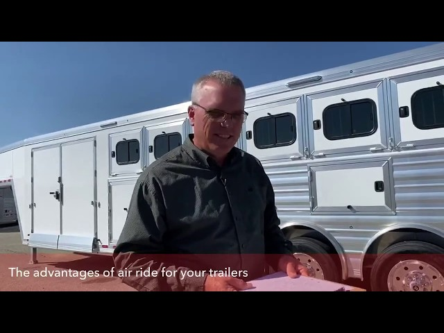 Transwest Truck Trailer RV with The Benefits of Air Ride