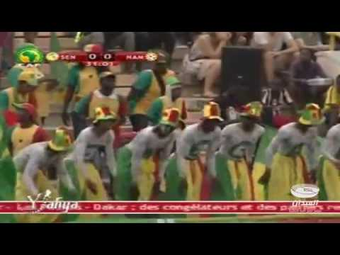 Senegal 2 vs 0 Namibia   Clasificacion Copa Africa
