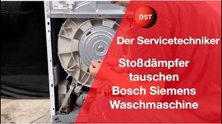 Wie tausche ich die Stoßdämpfer bei einer Bosch / Siemens Waschmaschine