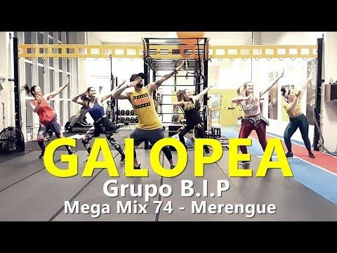 GALAPOEA  - Grupo B.I.P - Zumba® - Mega Mix 74 - Merengue l Choreography l CIa Art Dance