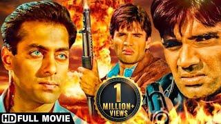 सुनील शेट्टी की ब्लॉकबस्टर  एक्शन मूवी - विनाशक सुनील शेट्टी और रवीना टंडन Blockbuster Hindi Movies