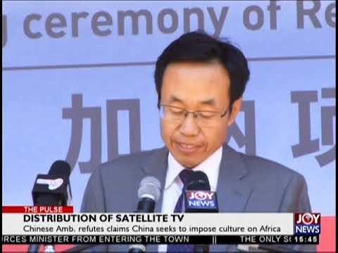 Distribution of satellite TV - The Pulse on JoyNews (26-9-18)