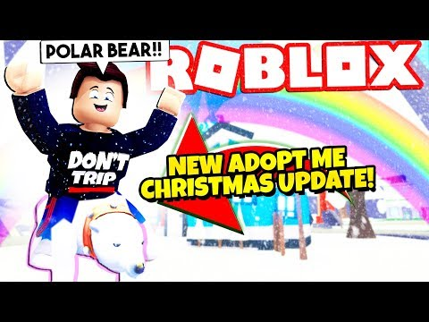 Free New Christmas Pets Update In Adopt Me New Adopt Me