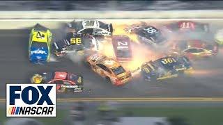 All of the crashes from the 2019 Daytona 500 | FOX NASCAR