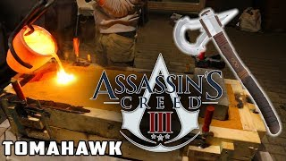 Casting Assassins Creed 3 Tomahawk Axe | Aluminum Casting | Thors Hammer Smashing The Sand !
