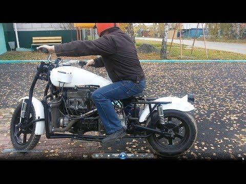 Мотоцикл с двигателем Ваз 2109. Завершение проекта.
