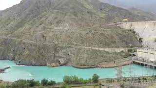 preview picture of video 'Toktogul dam.'