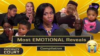 Paternity Court's Most EMOTIONAL Reveals (Pt. I) | 25-Minute Compilation | Paternity Court