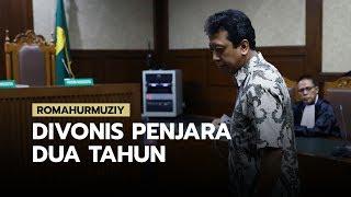 Romahurmuziy Divonis 2 Tahun Penjara, Lebih Ringan dari Tuntutan JPU
