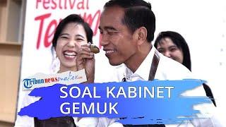 Kabinet Dikritik Gemuk, Jokowi Bandingkan dengan Negara Lain, Efektifitas Seperti Apa