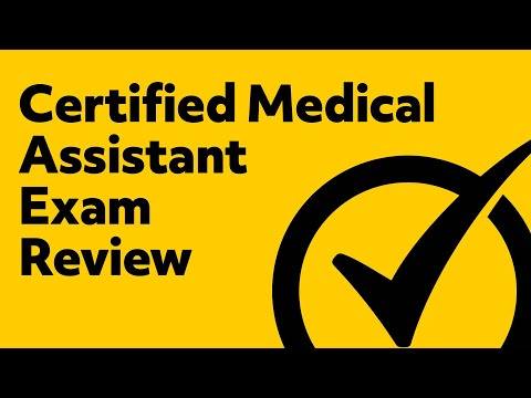 Certified Medical Assistant Exam Review - YouTube