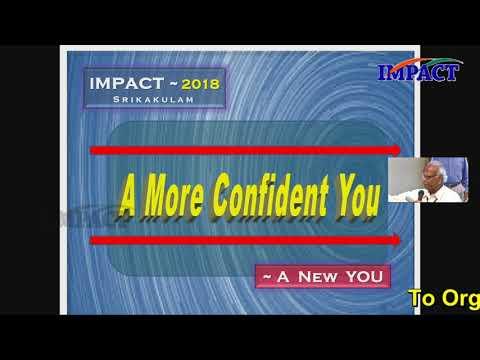 More Confidence | V Viswanadham | TELUGU IMPACT Srikakulam 2018
