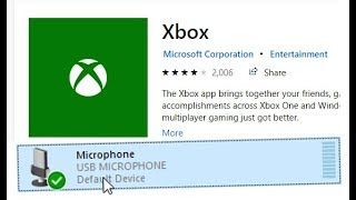 Fix: Microphone not working properly on the Xbox App
