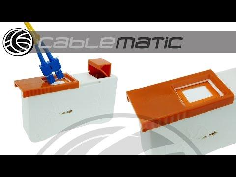 Cinta limpiadora reparadora de conectores de fibra óptica CLE-BOX distribuido por CABLEMATIC ®