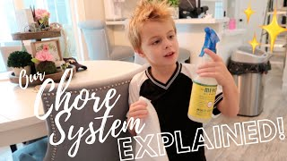 HOW TO GET YOUR KIDS TO DO CHORES! (AND LIKE IT) ✨ Easy Chore System // pink after blue
