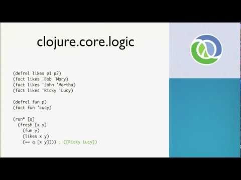 Image thumbnail for talk Learning Clojure: Next Steps