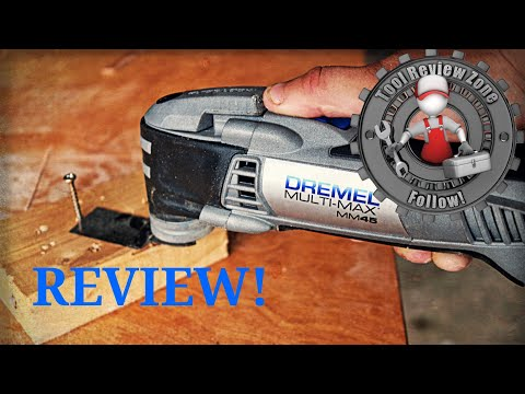 Dremel Multi-Max MM45 5 Amp Variable Speed Oscillating Tool REVIEW! (MM45-05) #dremel #oscillating