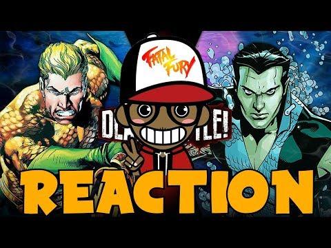 AQUAMAN vs NAMOR!!!   DEATH BATTLE Reaction