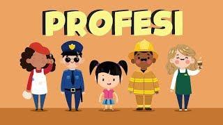 Belajar Membaca Nama-nama Profesi Bagian 3 | Bunbun Learning Profession