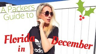 What to pack for Florida in December A Walt Disney World At Christmas Time Packing Guide