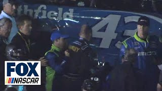 Marcos Ambrose Punches Casey Mears In The Face - Richmond - 2014 NASCAR Sprint Cup