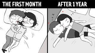 Relationship: First Month Vs. Year Later