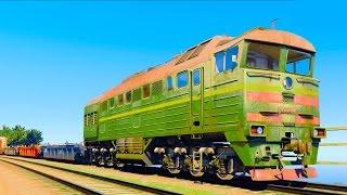 РУССКИЙ ЛОКОМОТИВ СОШЕЛ С РЕЛЬС - НОВЫЙ МОД В GTA 5