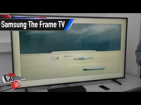 Samsung The Frame: Flacher Edel-TV im Check