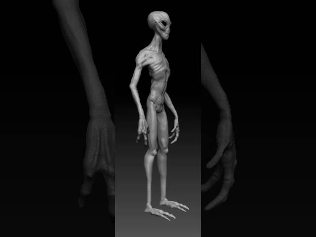 Alien Turn Table Video
