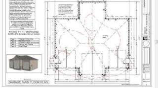 RV Garage Plans Blueprints Construction Drawings 44 X ...