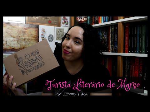 Unboxing Turista Literário de Março (2021) | Raíssa Baldoni