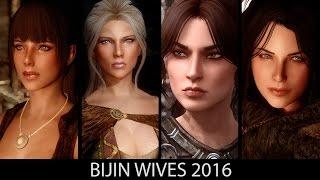WIVES OF MY DREAMS - Skyrim Mods - Bijin Wives 2016