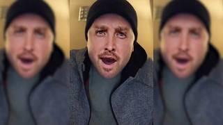 Jesse Pinkman promotes El Camino; A Breaking Bad Movie - Or is it El Dodge Stratus???