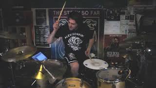 Alexisonfire Familiar Drugs Drum Cover