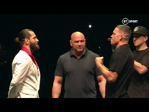 Full UFC 244 Press Conference: Masvidal and Diaz face off in New York!