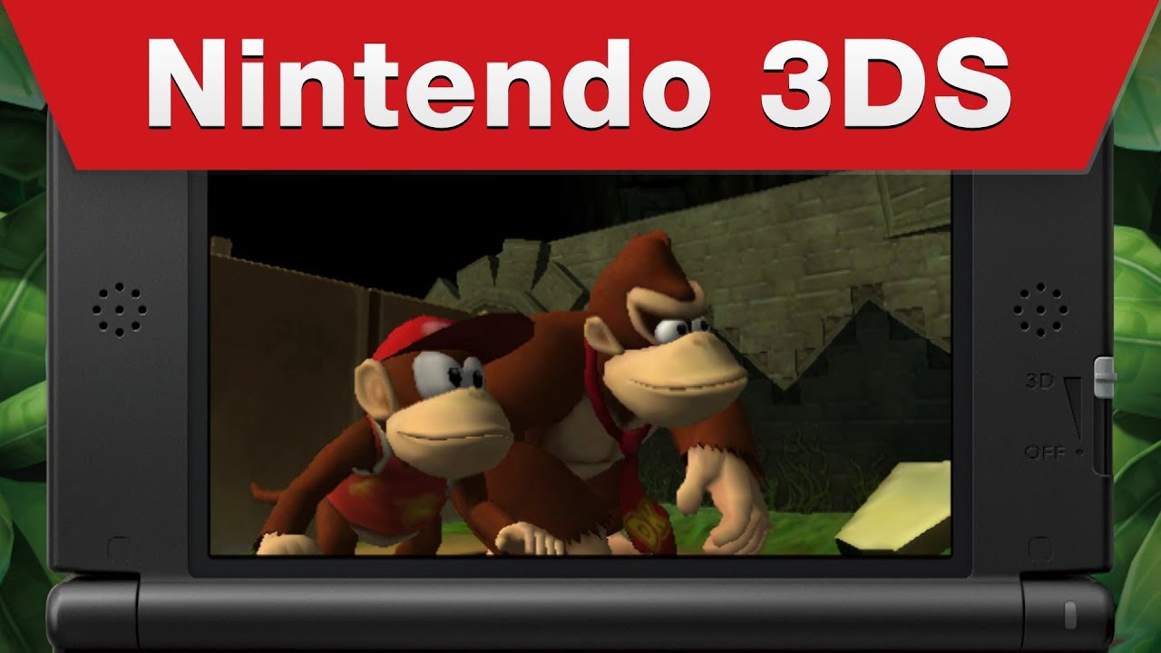 Donkey Kong: Country Returns 3D Coming May 24