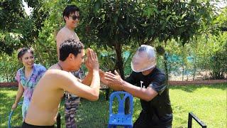 คนแพ้ต้องคาบถุงตด!!! แข่งโยนถุงยางน้ำใส่หัว | CLASSIC NU x Ozrealman