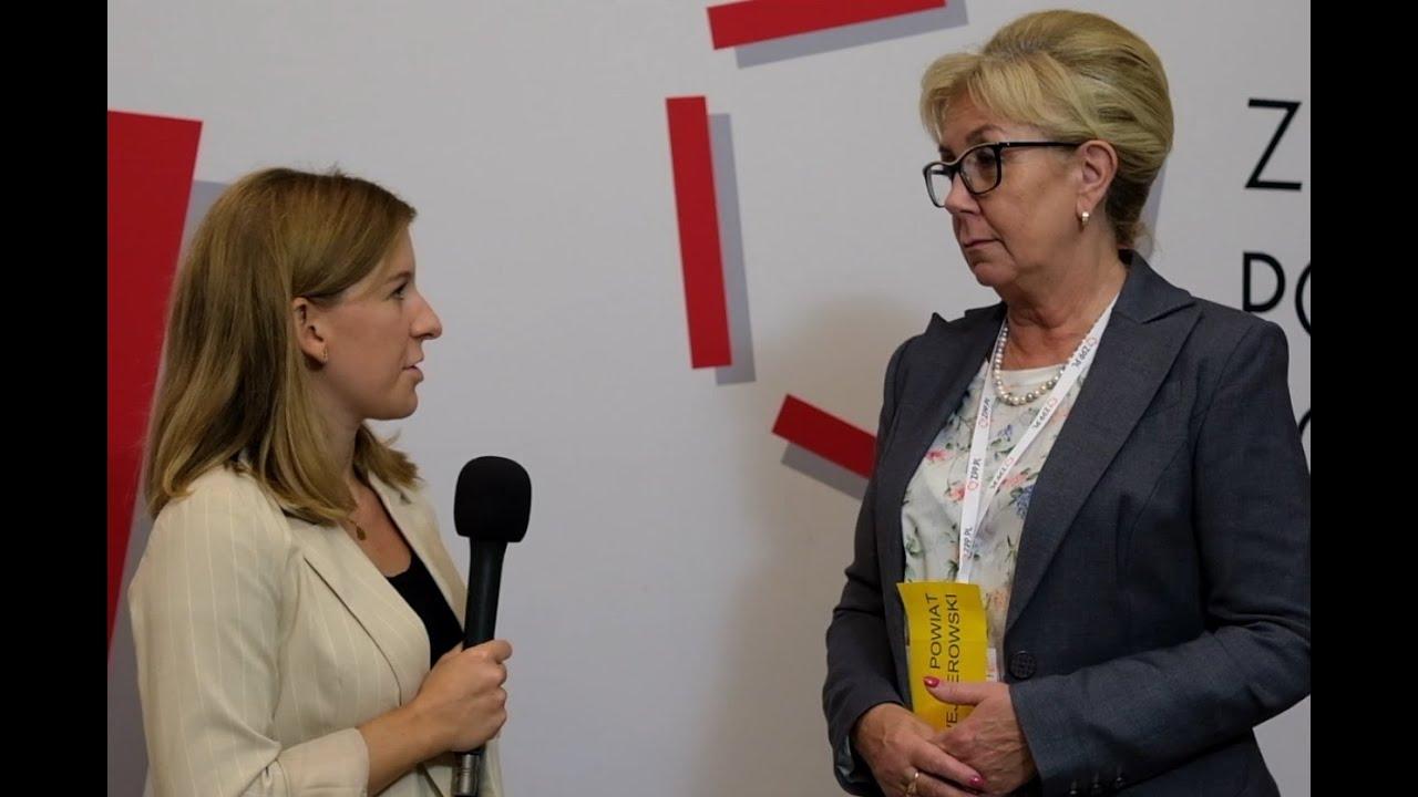 Wywiad TV ze starostami na temat uregulowania zasad stwierdzania zgonu