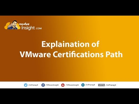 Explaination of VMware Certifications Path - YouTube