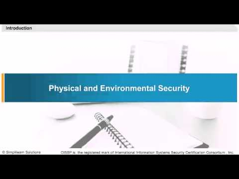 Physical And Environmental Security   CISSP Training Videos ...