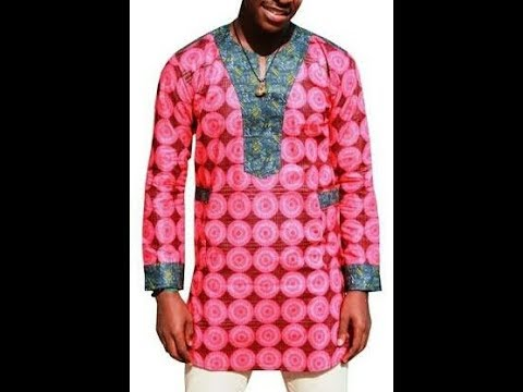 HOW TO MAKE ANKARA MEN SENATOR / BUBA NATIVE WEAR (PATTERN CUTTING) 1