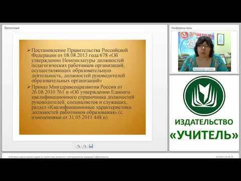 Аттестация пед. кадров на соответствие должности: пакет документов, процедура, эффективность