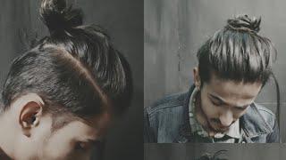 Best Man Bun Hairstyles || Top Knot || 3 Hair Styles For Men Long Hair || Mens Hair 2018