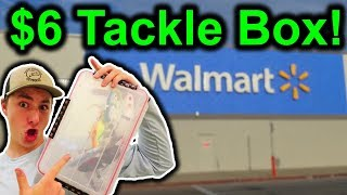 My Secret $6 Tackle Box You MUST Have (Budget Fishing)