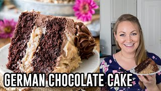 german chocolate cake recipe simple