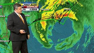 Hurricane Dorian weather update: Storm now off the coast of NC, eyewall skims along the shore